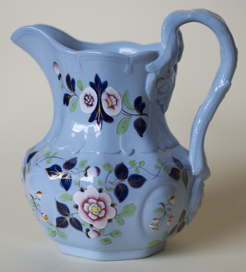 Pattern 33 jug, handle right