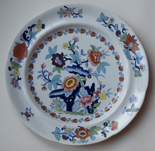 Pattern 767 dinner plate front