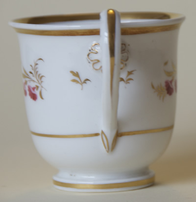 Pattern 2/784 coffee cup handle side