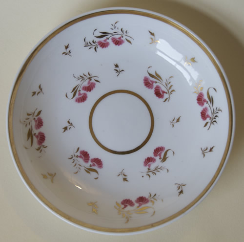 Pattern 2/784 saucer front