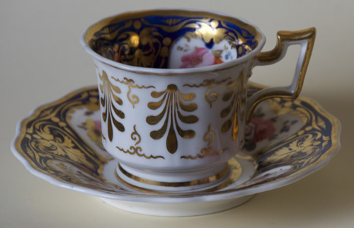 Pattern 2/1043 coffee cup and saucer