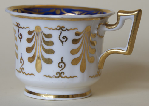 Pattern 2/1043 coffee cup side
