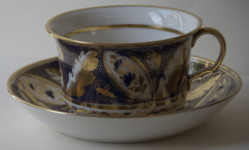 Pattern 388 breakfast cup and saucer