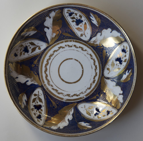 Pattern 388 breakfast saucer front