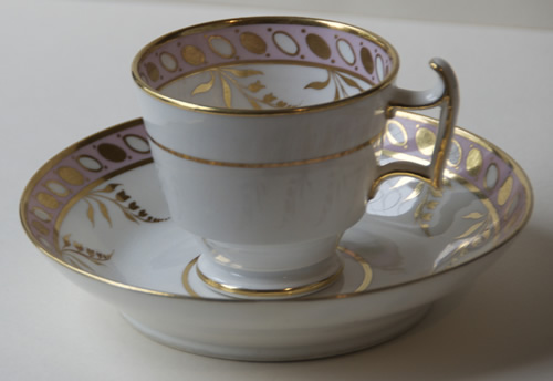 Pattern 2/137 coffee cup and saucer