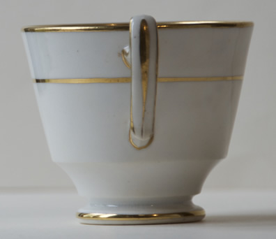 Pattern 2/137 coffee cup handle