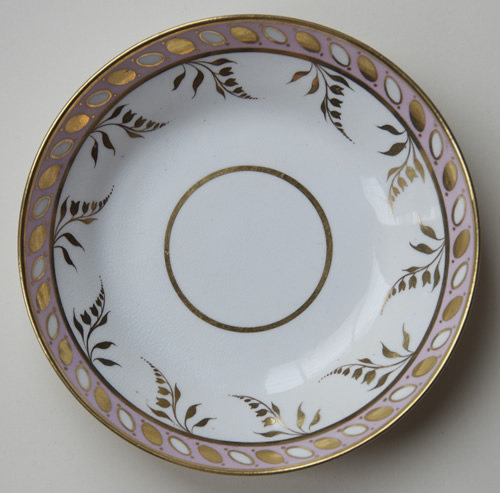 Pattern 2/137 saucer front
