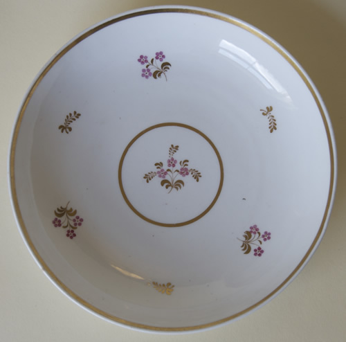 Pattern 2/860 large saucer dish front
