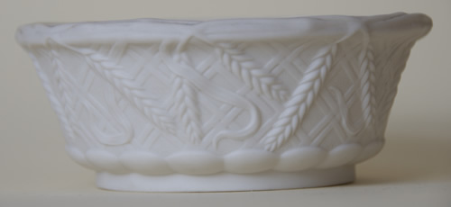 John Barleycorn covered butter dish body side
