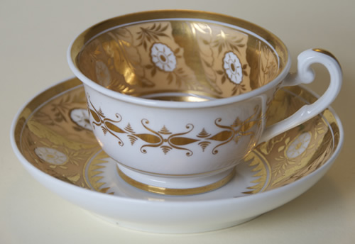 Pattern 2/806 tea cup and saucer