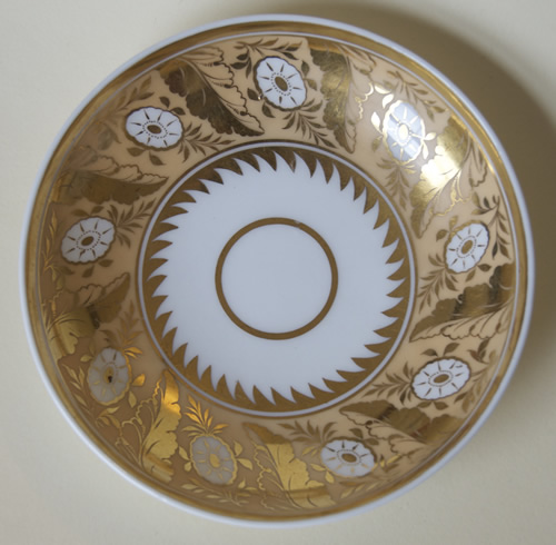 Pattern 2/806 saucer front