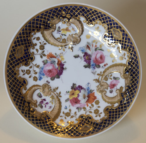 Pattern 2/835 breakfast saucer front