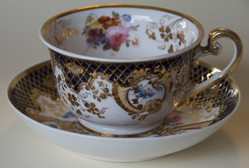 Pattern 2/835 breakfast cup and saucer