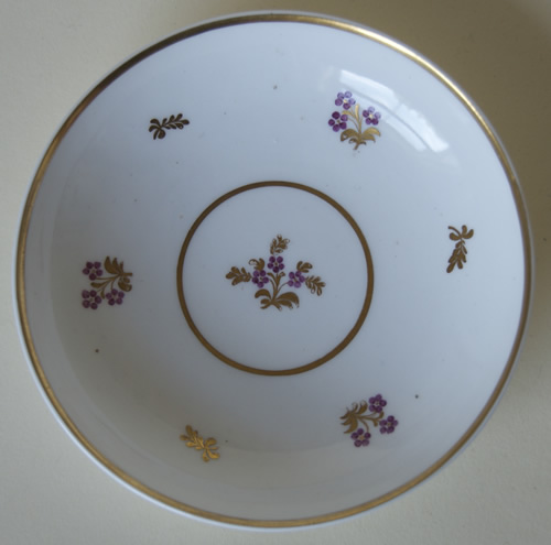 Pattern 2/860 saucer front