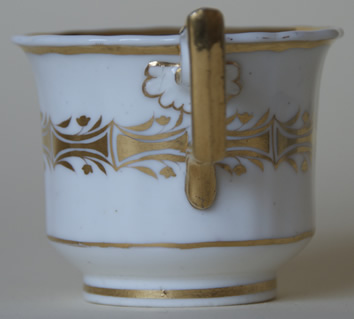 Pattern 2/1215 coffee cup handle