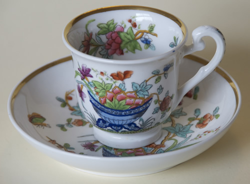 Pattern 2/848 coffee cup and saucer