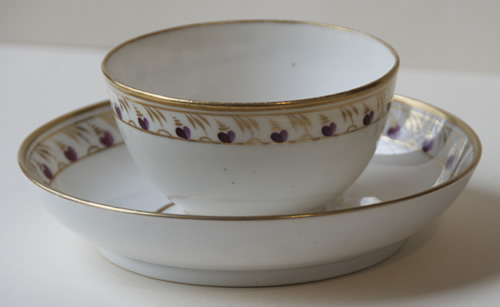 Pattern 439 cup and saucer