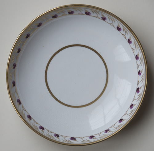 Pattern 439 saucer front