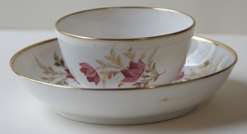 Pattern 336 cup and saucer