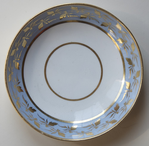 Pattern 481 saucer front