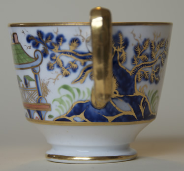 Pattern 2/199 coffee cup handle side