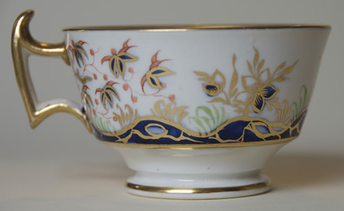 Pattern 2/199 tea cup right side