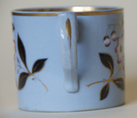 Pattern 343 mug handle side