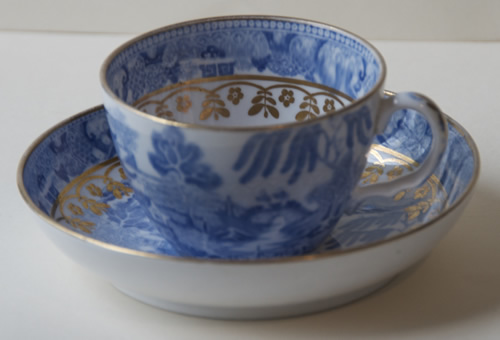 Pattern 2/115 cup and saucer
