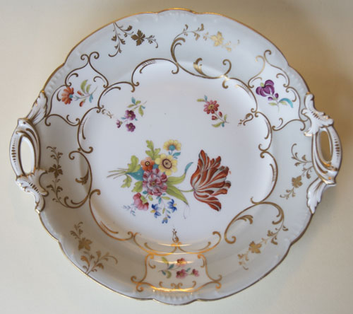 Pattern 2/7924 bread and butter plate front