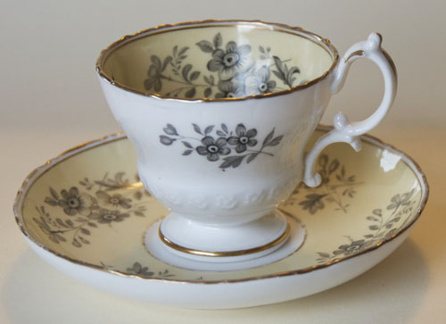 Pattern 2/3430 coffee cup and saucer