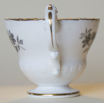 Pattern 2/3430 coffee cup handle side