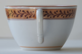 Pattern 2/1 cup handle