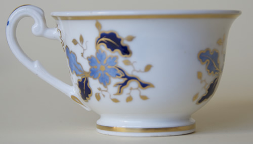Pattern 2/926 tea cup right side