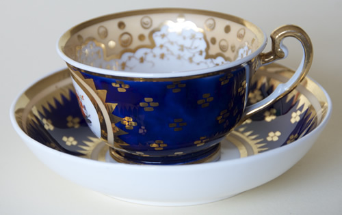Pattern 2/843 tea cup and saucer