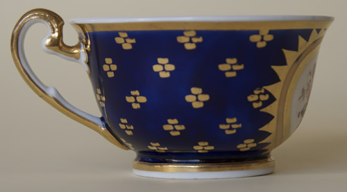Pattern 2/843 tea cup right side
