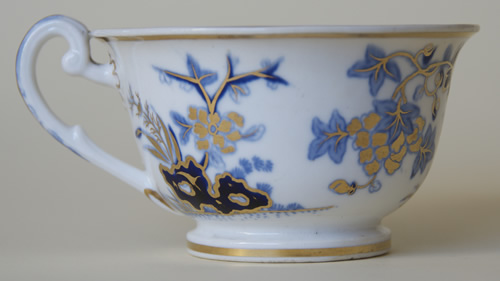 Pattern 2/837 tea cup right side