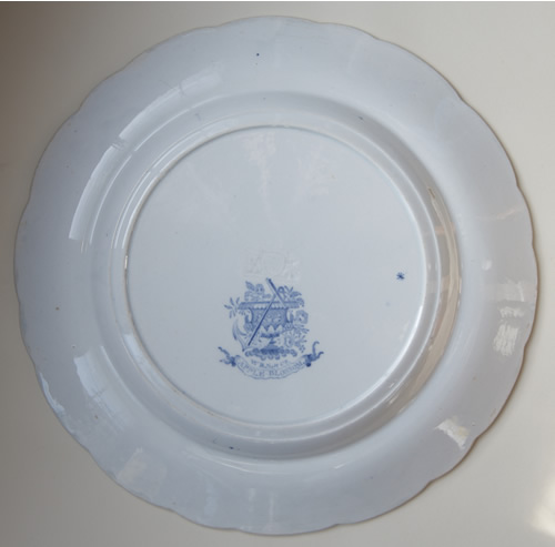 Apple Blossom dinner plate back