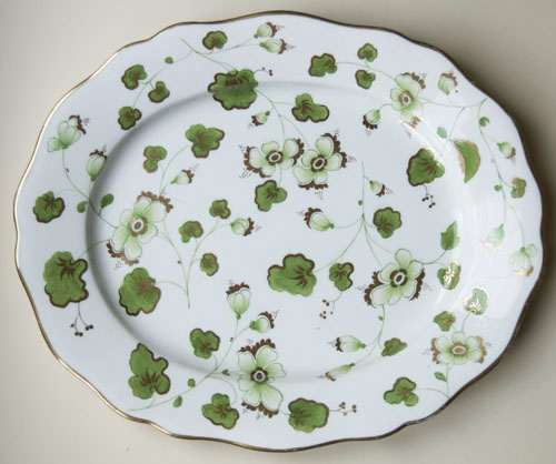 Pattern 2/4023 large oval dish front