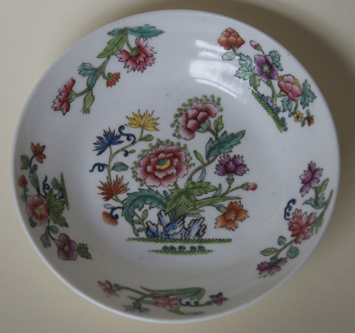 Pattern 2/713 saucer front