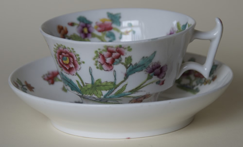 Pattern 2/713 tea cup and saucer