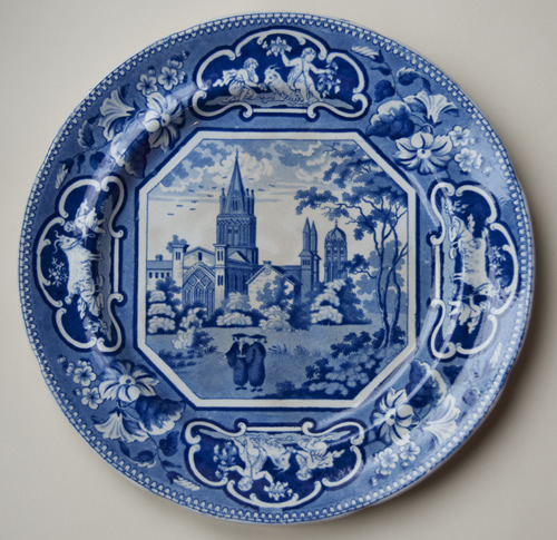 Christ Church dinner plate front