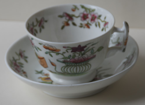 Pattern 2/643 tea cup and saucer