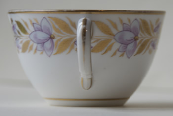 Pattern 405 cup handle