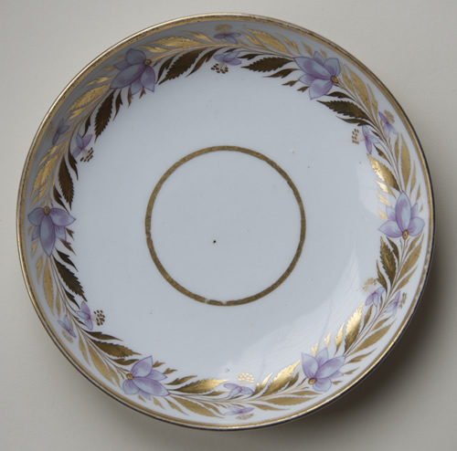 Pattern 405 saucer front