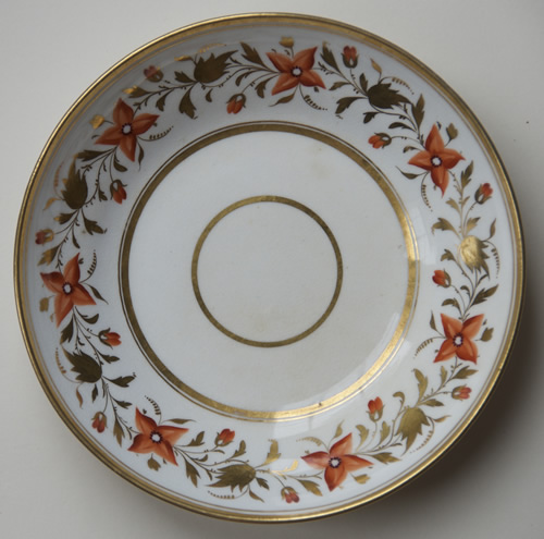 Pattern 2/676 saucer front