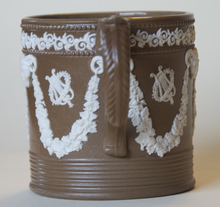 Pattern 269 mug handle side
