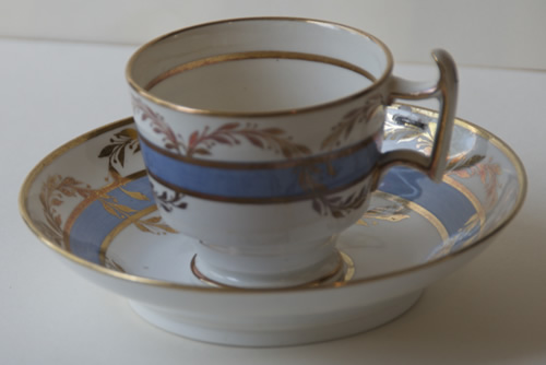 Pattern 2/27 coffee cup and saucer