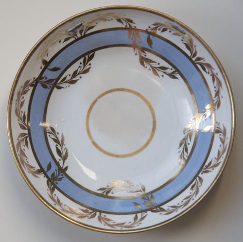 Pattern 2/27 saucer front