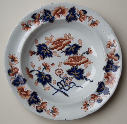 Pattern 1082 soup plate front