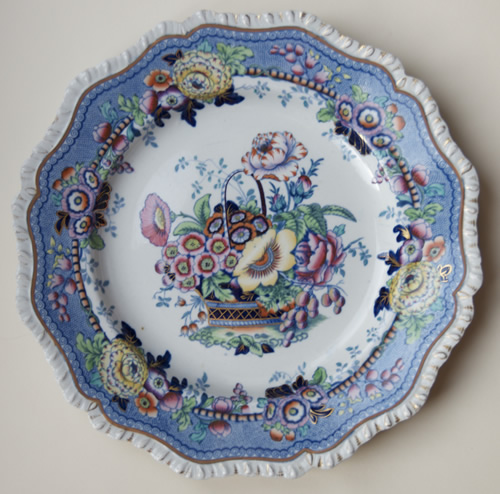 Pattern 64 dinner plate front